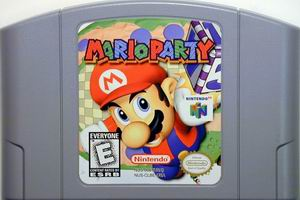 Mario Party (USA) Cart Scan